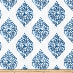 Fabricut Explosive Medallion Blue Fabric