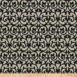 Fabricut Ezekiel Scroll Onyx Fabric