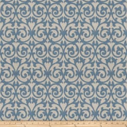 Fabricut Ezekiel Scroll Delft Fabric