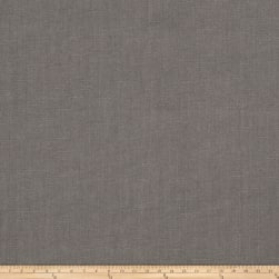 Fabricut Facet Linen Blend Graphite Fabric