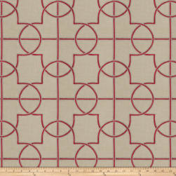 Fabricut Farina Ruby Fabric