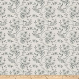 Fabricut Flowering Plant Navy Fabric