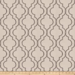 Fabricut Four Queens Embroidered Metal Fabric