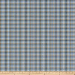 Fabricut Game Point Houndstooth Lake Fabric