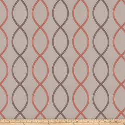 Fabricut Genial Embroidered Satin Quartz Fabric