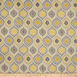 Fabricut Givree Barkcloth Gold Leaf Fabric