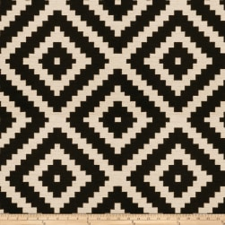 Fabricut Grange Jacquard Licorice Fabric