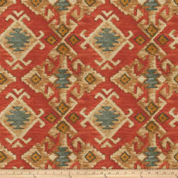 Fabricut Gumption Barkcloth Sienna Fabric