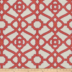 Fabricut Hakata Lattice Papaya Fabric