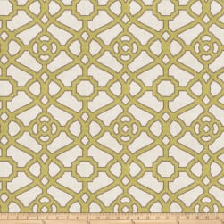 Fabricut Hakata Lattice Kiwi
