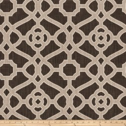 Fabricut Hakata Lattice Noir Fabric