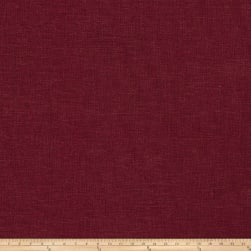 Fabricut Haney Linen Viscose Plum Fabric