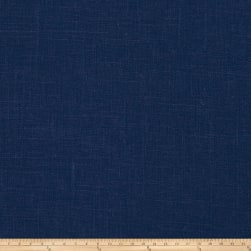 Fabricut Haney Linen Viscose Navy Fabric