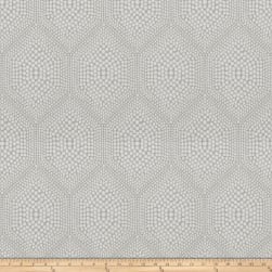 Fabricut Hapi Bubbles Jacquard Sterling Fabric