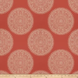 Fabricut Haveli Jacquard Papaya Fabric