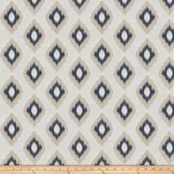 Fabricut Hearty Diamond Jacquard Navy Fabric