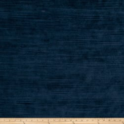 Fabricut Highlight Velvet Velvet Navy Fabric