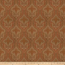 Fabricut Imagination Jacquard Red Pepper Fabric