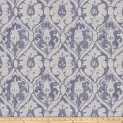 Fabricut Ironclad Jacquard Navy Fabric