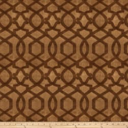 Fabricut Jacopo Velvet Coffee Bean Fabric
