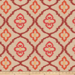 Fabricut Jarita Embroidered Spice Fabric