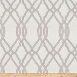 Fabricut Jeebie Lattice Jacquard Smoke Fabric