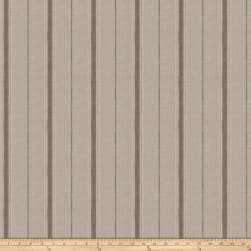 Fabricut Kepa Stripe Linen Blend Steel Fabric