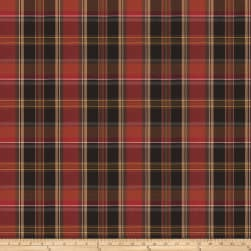 Fabricut Kilt Twill Plaid Auburn Fabric
