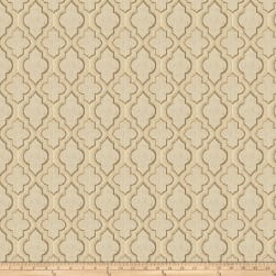 Fabricut Locket Jacquard Caramel Fabric