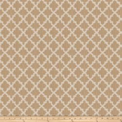 Fabricut Love Lattice Sandstone Fabric