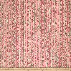 Fabricut Macklemore Basketweave Flamingo Fabric