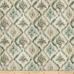 Fabricut Major Piece Barkcloth Teal Fabric