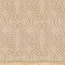Fabricut Margulies Silk Taupe Fabric