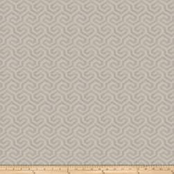 Fabricut Maritime Metallic Silver Canvas Fabric