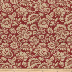 Fabricut Marraqueta Basketweave Antique Red Fabric