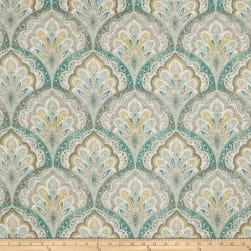 Fabricut Melamine Basketweave Spa Blue Fabric