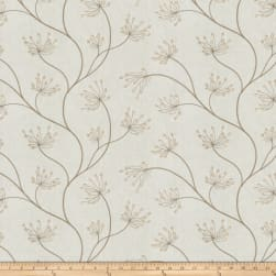 Fabricut Nadu Embroidered Marble Fabric