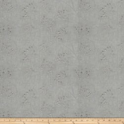 Fabricut Nadu Embroidered Slate Fabric