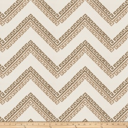 Fabricut Nandi Embroidered Taupe Fabric