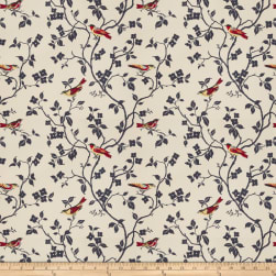 Mount Vernon Nature's Song Cardinal Fabric