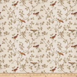 Mount Vernon Nature's Song Amber Fabric