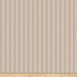 Fabricut Nels Stripe Linen Blend Pebble Fabric