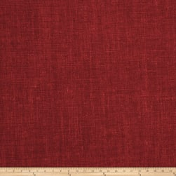 Fabricut Newport Linen Blend Flame Fabric