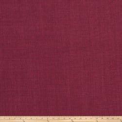 Fabricut Newport Linen Blend Raspberry Fabric