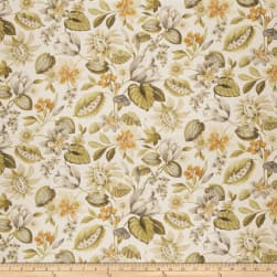 Fabricut Norma Floral Gold Dust Fabric