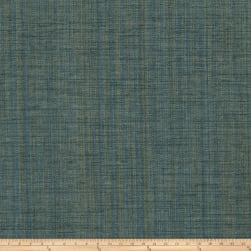 Fabricut Panorama Basketweave Chenille Teal Fabric