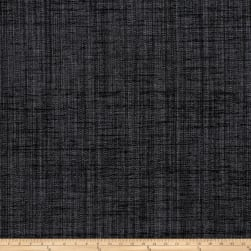 Fabricut Panorama Basketweave Chenille Charcoal Fabric