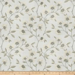 Fabricut Pennant Floral Pewter Fabric