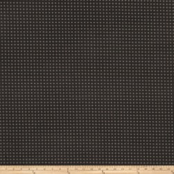 Fabricut Perforated Faux Suede Charcoal Fabric