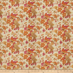 Fabricut Plamen Exotic Linen Papaya Fabric